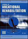 Journal of Vocational Rehabilitation