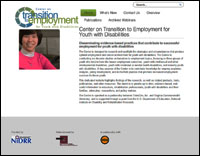 The Center on Transition to Employment for Youth with Disabilities (TransCen & VCU) website screenshot