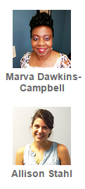 Marva Dawkins-Campbell and Allison Stahl