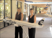 Alaska Airlines employees