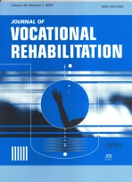 The Journal of Vocational Rehabilitation