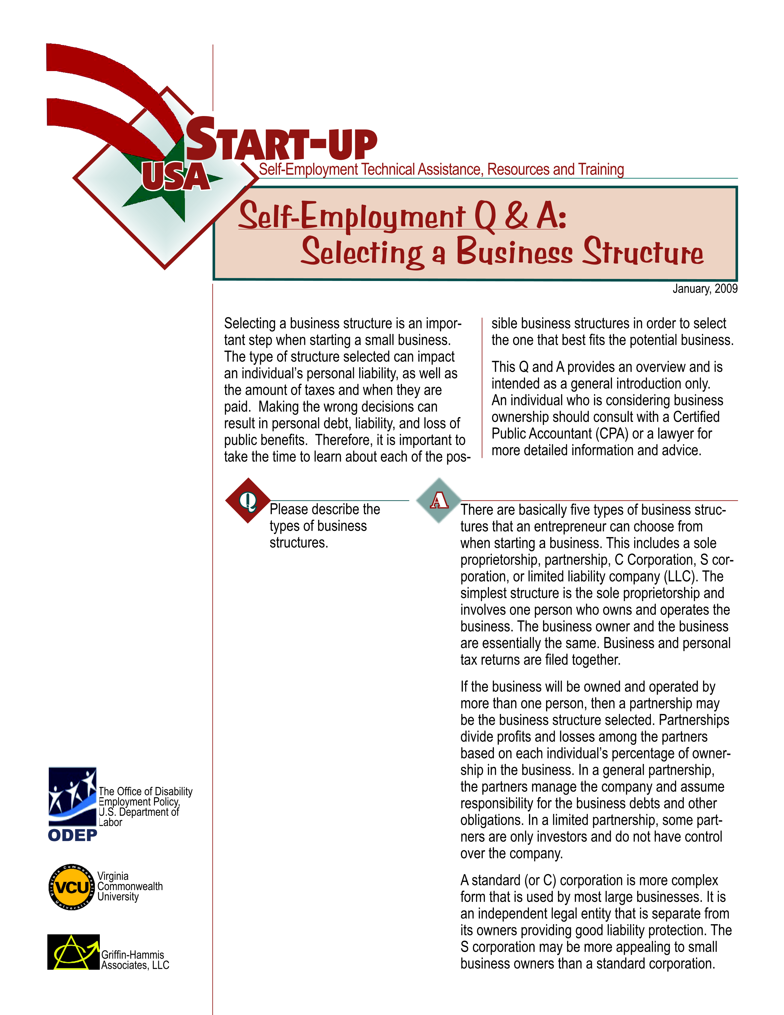 Limited Partnership Agreement Startupqaselectingbusinessstructure Page