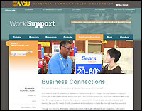 Business Connections website screenshot